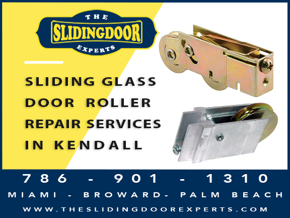 Sliding Glass Door Roller Repair in Kendall