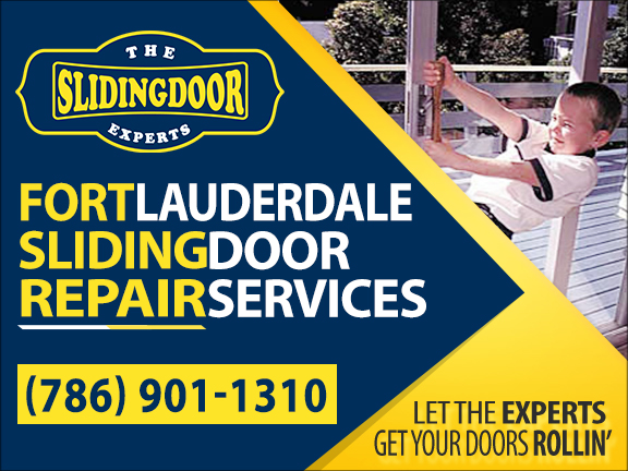 Fort Lauderdale Sliding Glass Door Repair Services