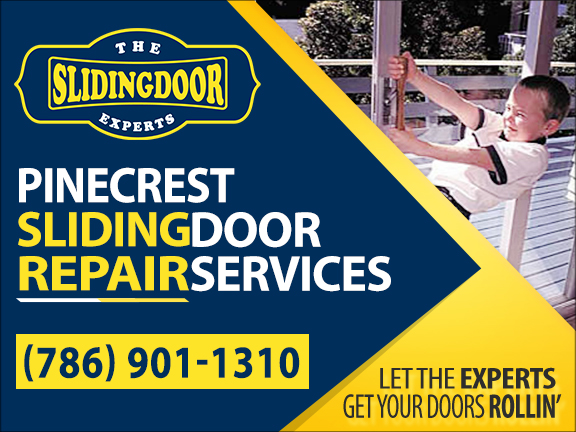 Pinecrest Sliding Glass Door Repair Services