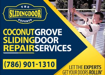 Coconut Grove Sliding Glass Door Repair Services
