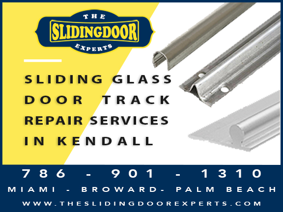Sliding Glass Door Track Repair in Kendall