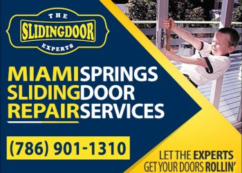 Miami Springs Sliding Glass Door Repair Services