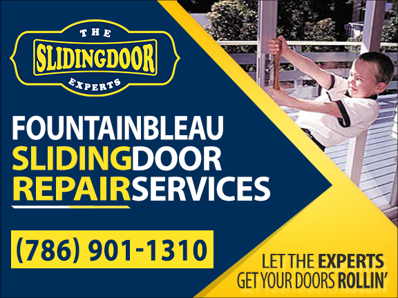 Fountainbleau Sliding Glass Door Repair Services
