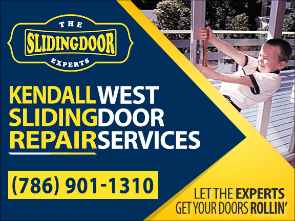 Kendall West Sliding Glass Door Repair Services