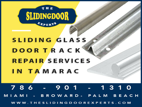 Sliding Glass Door Track Repair in Tamarac