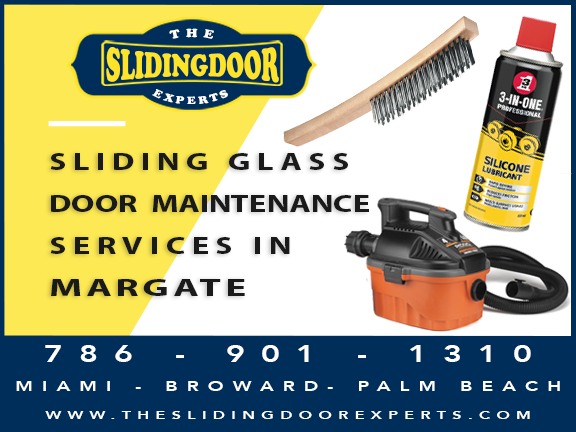 Sliding Glass Door Maintenance Services in Margate