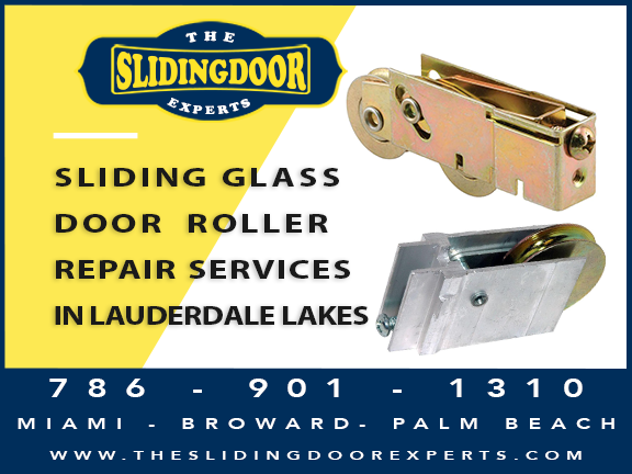Sliding Glass Door Roller Repair in Lauderdale Lakes