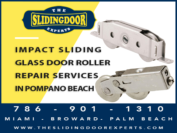 Impact Sliding Glass Door Repair Services in Pompano Beach