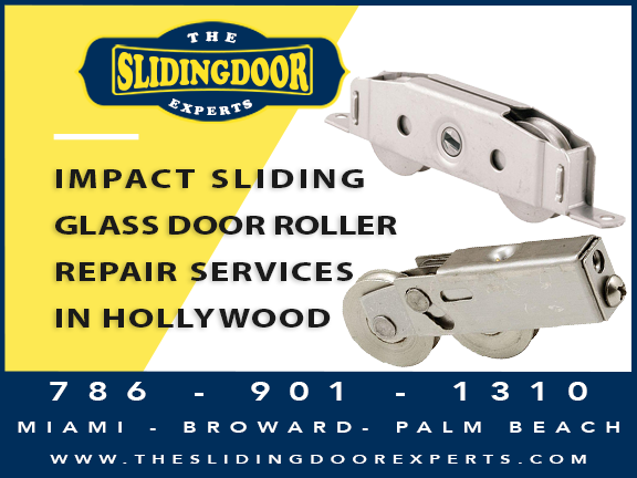 Impact Sliding Glass Door Repair Services in Hollywood