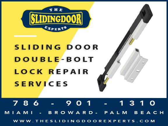 SLIDING DOOR DOUBLE BOLT LOCK REPAIR KENDALL