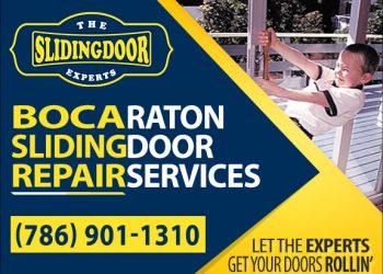 Boca Raton Sliding Glass Door Repair Services