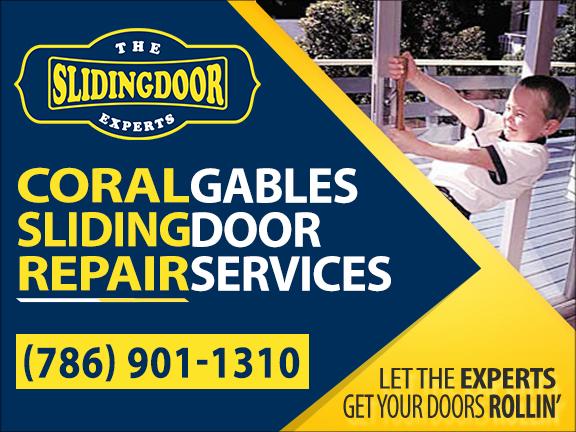 Coral Gables Sliding Glass Door Repair Services