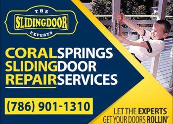 Coral Springs Sliding Glass Door Repair Services