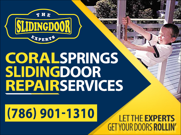 Coral Springs Sliding Glass Door Repair Services