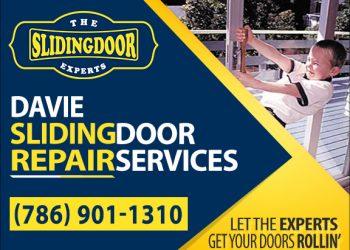 Davie Sliding Glass Door Repair Services
