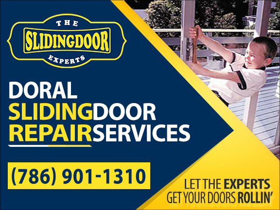 Doral Sliding Glass Door Repair Services