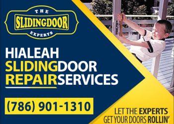 Hialeah Sliding Glass Door Repair Services