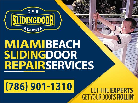 Miami Beach Sliding Glass Door Repair Services