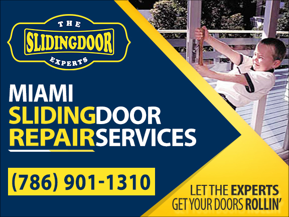 Miami Sliding Glass Door Repair Services