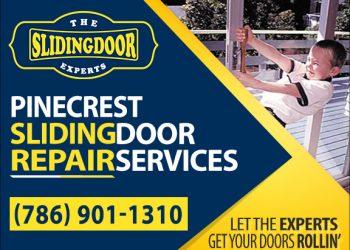 Pinecrest Sliding Glass Door Repair Services