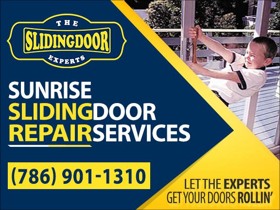 Sunrise Sliding Glass Door Repair Services