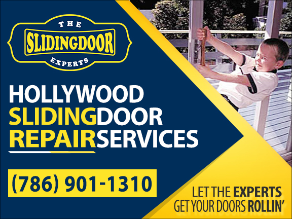 Hollywood Sliding Glass Door Repair Services