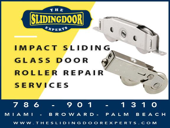 Impact Sliding Glass Door Repair Services in Miami Beach