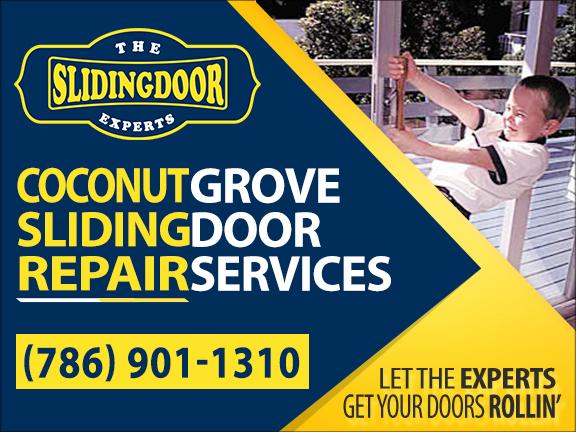 Coconut Grove Sliding Glass Door Repair Services