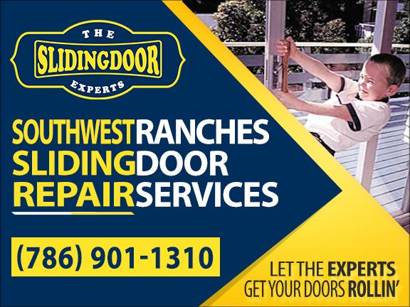 Southwest Ranches Sliding Glass Door Repair Services